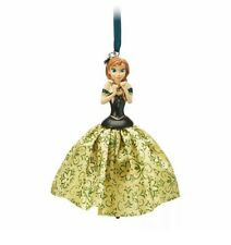NIB Disney Store Frozen Anna 2019 Christmas Sketchbook Tree Ornament