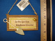 Garden Ornament Plaque In This Garden Kindness Blooms D08371 47