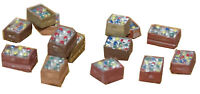 Assorted Beer and Cider crates (OO Scale) - Unpainted - Langley F114