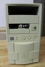Vintage AT computer case with power supply