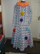 Pantomime dame dress, ugly sister extra large size