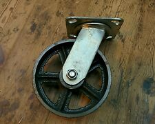 """6 """"Ghisa ricino industriale girevole CASTER Heavy Duty for industrial furniture"""