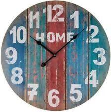 Orologio Da Parete Home In Legno Stile Vintage Retro 45 Cm Casa Arredo Ufficio