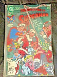 ADVENTURES OF SUPERMAN #487 DC COMICS 1992