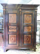 Important Antique Closet Of 700 IN Nut Inlaid Piedmont