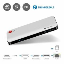 SIIG Thunderbolt 3 Dual 4K Video Docking Station with Power Delivery (JU-DK0711-