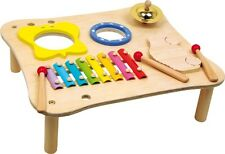 Music Table - Children Train Motor Skills Wooden Toy Rhythm Play with Sounds NEW