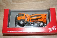 Herpa 309783 Scania CG 17 6x6 Camión hormigonera municipal naranja 1 87