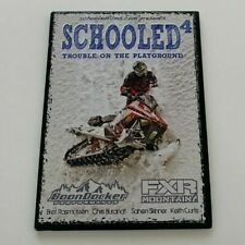 New listing Schooled 4 Trouble in The Playground FXR Back Country Snowmobiling Stunts DVD