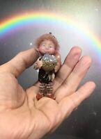 OOAK Miniature Fairy Pixie Elf Gnome tiny by Fantasysculpts