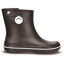 46371f95e332 Crocs Jaunt Shorty Ladies Womens Short Ankle Pull on Wellington Rain BOOTS  Black UK W5