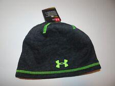 ce600fdb0 Under armour Storm Beanie Hats for Boys for sale | eBay