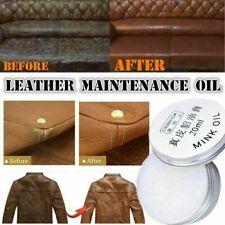Mink Oil Cream Cloth Wallet Sofa Shoe Car Pillow Maintenance Leather Handwe