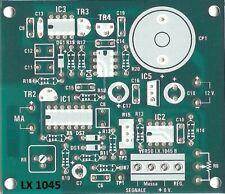 c.s. LX1045 nuova ELETTRONICA Cerca metalli LF Metal Detector Tesori LX 1045 nE