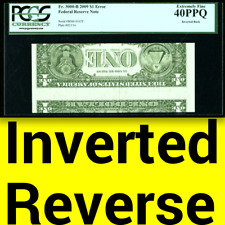 2009 Pcgs Xf40 Ppq Inverted Back â–ˆ Flashier Than $364,000 Error! Rare Later Date