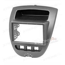 Car Stereo Fascia CITROEN C1 TOYOTA Aygo PEUGEOT CD Trim Install Kit Plate Panel