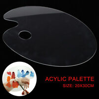 Acrylic Clear Artist Paint Mixing Palette Artist Kids Painting Supplies Tool