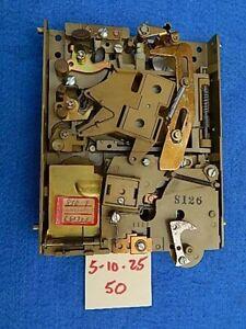 Seeburg wallbox DEC110 DEC125 DEC3 DEC4 Coin Acceptor 5-10-25-50