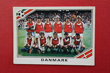 Panini MEXICO 86 N. 347 DANMARK TEAM With back GOOD CONDITION!!