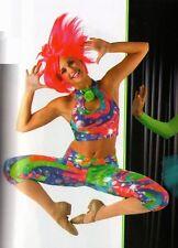 Allegria Dance Costume Crop Top & Leggings Jazz Tap Hip Hop Ballet Adult X-Large