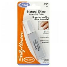 SALLY HANSEN NATURAL SHINE INSTANT NAIL FINISH 3045 CLEAR 11.8ml *NEW*
