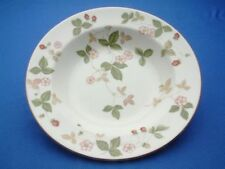 Wild Strawberry fine China by Wedgewood individual Soup Plate 8""