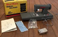 Vintage Toy Sew-Ette Child's Battery Operated Sewing Machine Toy 1940's - 1960's