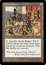 SNAKE BASKET Visions MTG Artifact RARE