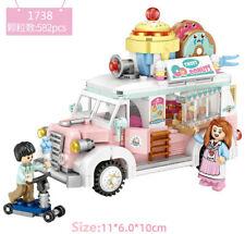 582 pcs MINI Blocks Kids Building Toys DIY Girls Puzzle Donuts Cart LOZ 1738