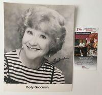 Dody Goodman Signed Autographed 8x10 Photo JSA Certified