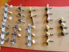 ANTIQUE / VINTAGE GUITAR TUNERS, PEGS, MACHINE HEADS   3 ON A SIDE