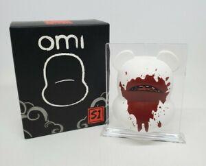 Munky King Series 1 Omi Mask Open Blind Box White Bloody Bear Luke Chueh