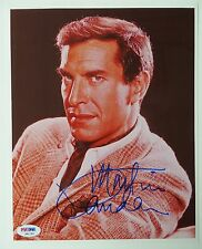Autographs-original Martin Landau Actor 1980 Waldorf Tv Movie Autographed Signed Index Card Special Buy Movies