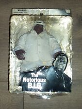 "NEW Mezco The Notorious B 9"" Action Figure Biggie Smalls in White Suit FREE SHIP"