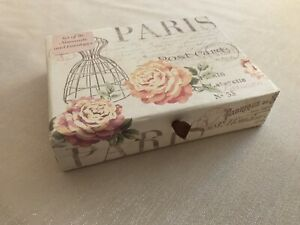 French-Inspired Set of 16 Notecards & Box; 2 Designs; Paris; Dress Form; NEW