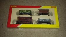 OO gauge HORNBY RAILROAD R3488 DIESEL 08 SHUNTER & Wagons FREIGHT TRAIN PACK