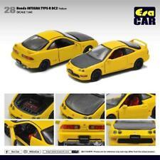 Era Car 1/64 Diecast Car 28 Honda INTERGA Type R Dc2 (us) Yellow