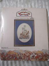 Vintage Cross Stitch Kit by DMC- David Winter Cottages- Castle Gate- NEW