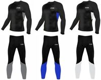 Mens Compression Shirt / Pants Base Layer Under Armour Gym Yoga Skin Fit Tights