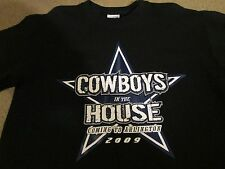"""COWBOYS in the HOUSE""..COMING TO ARLINGTON 2009..ADULT MEDIUM...NEW"