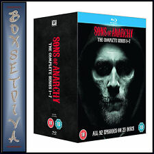 SONS OF ANARCHY - COMPLETE SERIES 1 2 3 4 5 6 & 7  **BRAND NEW BLU-RAY BOXSET**