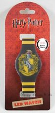 New Harry Potter Hufflepuff Stripe LED Digital Rubber Wrist Watch