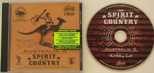 AUSTRALIA 2..SPIRIT OF THE COUNTRY..18 TRACK MUSIC CD..PAUL ANTHONY SMITH