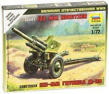 Soviet M-30 Howitzer 1/72 Military Model Kit - Zvezda 6122