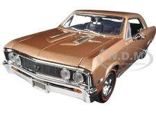 1967 CHEVROLET CHEVELLE SS 396 GOLDEN BROWN TIMELESS CLASSIC 1:18 MOTORMAX 73104