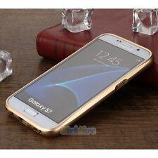 Luxury Metal Bumper Gorilla Glass Cover Case for Samsung Galaxy S6 S7/S7 Edge