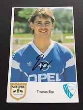 THOMAS EPP VFL BOCHUM signiert 10x15 Autogrammkarte auf Fotopapier