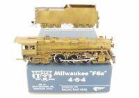 HO Brass PFM - United MILW - Milwaukee Road F6a 4-6-4 Baltic