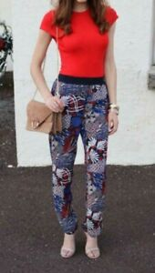 H&M Conscious collection multicolor Printed Pants