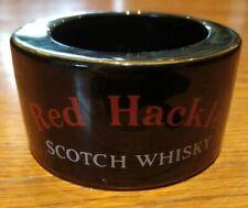 Red Hackle Ashtray Ash Tray Dish Vintage Pub Breweriana Vintage Scotch Whiskey